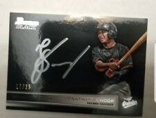 2014 Bowman Black Collection Jonathan Schoop Silver Ink Auto 17/25