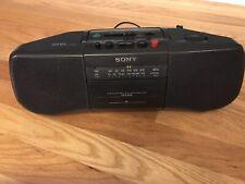 Sony Model No. Cfs-B15 Fm/Am Stereo Radio Cassette-Corder Ac/Dc. Ships fast!
