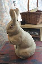 Large Antique Easter Paper Mache Rabbit Bunny