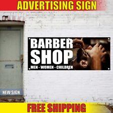 Barber Shop Advertising Banner Vinyl Sign Flag Beauty Salon Haircuts Shave Nail