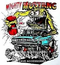 Vintage RAT FINK Mighty MUSTANG Vinyl Decal Sticker 4352