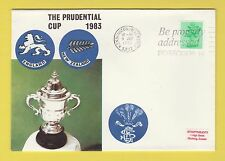 CRICKET - STAMP COVER - PRUDENTIAL CUP -  ENGLAND  V  NEW ZEALAND  -  1983