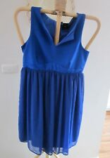 NEW WITH TAGS, BEAUTIFUL BLUE, ASOS MATERNITY DRESS SIZE 14