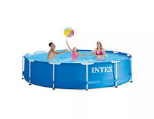 Intex 12' x 30'' Metal Frame Above Ground Pool with Filter Pump [Brand New]
