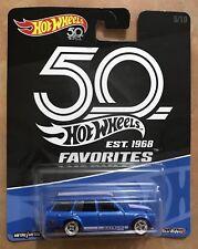 Hot Wheels '71 Datsun Bluebird 510 Wagon 50th Anniversary Favorites