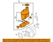 GM OEM-Brake Master Cylinder 19209272