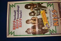 KISS IN ATTACK OF THE PHANTOMS 1978 Vintage Original & Very Rare Daybill Movie
