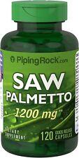 NEW Saw Palmetto 1200 mg 120 caps Prostate Support Men Health Vitamin BIG VALUE