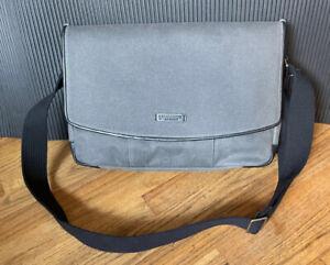 NWT M Timbuk2 PROOF Messenger Bag Carry On Work Travel MacBook iPad Gray School