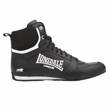 Lonsdale Kids Bout Jnr Boys Boxing Boots Lace Up Sports Shoes Trainers Footwear