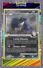 Corboss G - Platine - 77/127 - Carte Pokemon Neuve Française