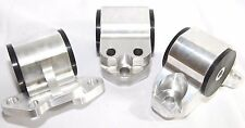 SILVER Engine Motor MountKit fit 92-95 Honda Civic EG 93-97 Integra 3Bolt Mount