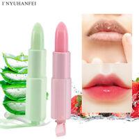 Natural Lip Cream Balm Long Lasting Nourishing Moisturizing Lipstick Lips Care-