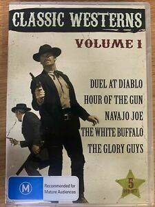 CLASSIC WESTERNS VOLUME 1  Duel At Diablo - Hour Of The Gun - White Buffalo -