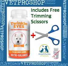 TWINKLE EYES Tear Stain Remover For Dogs - BEEF LIVER 40g Orange