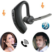 Wireless Bluetooth Headset Headphone Compatible with iPhone Android Cell phones