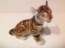 Lomonosov Porcelain Baby Tiger Cub Figurine Made In Russia USSR