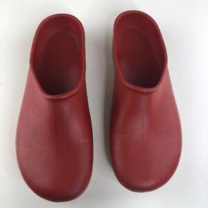 Sloggers-Women's Rain&Garden Shoe,Midsummer Red Print Women's Sz 8