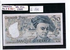 Frankreich 50 Francs WPM. 152d. 1989 Erhaltung 1