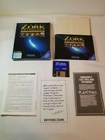 """The Zork Anthology and planetfall IBM PC MSDOS 3.5"""" hd disk infocom activision"""