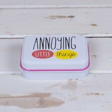 Annoying Little Things Tin Small storage Great gift Deck chair New