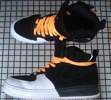 Nike Air Jordan 12 Fusion AJF Force 45 Playoff Black/Varsity Red 6 Mal Getragen