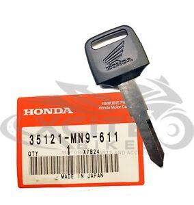 Genuine Honda key MC22 CBR 250 600 900 1000 RVF400 goldwing p/n 35121-MN9-611