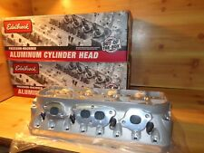 Edelbrock Chevy Small Block 350 Pro-Port Raw Rox Cylinder Heads Head Race 777669