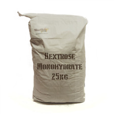 Brewing Sugar Glucose Home Brew Beer Wine Spirit Dextrose Monohydrate 25KG Bulk