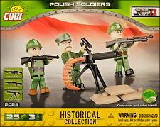 COBI Polish Soldiers - 3 figurines (2029) - 25 elem.