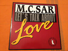 "M C SAR & THE REAL McCOY - Let's Talk About Love - '92 German 12"" ITALO-HOUSE NM"