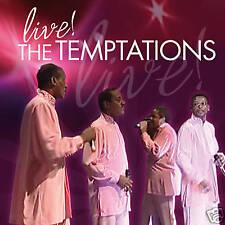 CD The Temptations Live
