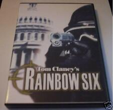 RAINBOW SIX 1 gioco pc originale RARO ITA pal completo