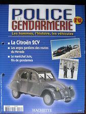 FASCICULE 42  POLICE GENDARMERIE CITROEN 2CV  RENAULT 4L JOUSTRA