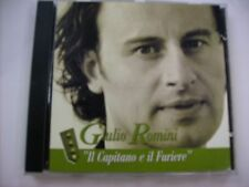 GIULIO ROMINI - IL CAPITANO E IL FURIERE - CD SINGLE 1998 - EXCELLENT