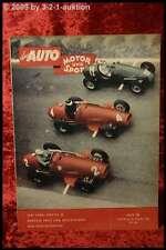 Das Auto AMS Auto Motor Sport 16/53 Ford Vedette Triumph Cornet Dodg