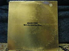 GRAND FUNK-WE'RE AN AMERICAN BAND -vinile 33 GIALLO