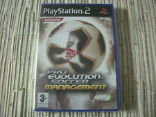 PRO EVOLUTION SOCCER MANAGEMENT PLAYSTATION 2 PS 2 NUEVO Y PRECINTADO