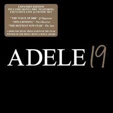 ADELE 19 LIMITED DELUXE EDITION 2 CD  BONUS LIVE TRACKS