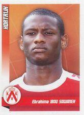 N°250 EBRAHIMA IBOU SAVANEH # GAMBIA KV.KORTRIJK STICKER PANINI FOOTBALL 2011