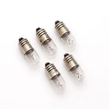 5 x 7v 2,1w 300ma 0,3a e10 10x28/poire lampe/Lamp Bulb/échelles lampes