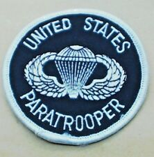 UNITED STATES PARATROOPER US CLOTH PATCH BADGE