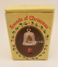 Russ Berrie Sound of Christmas Porcelain Soldier Bell Ornament with Box Vtg