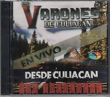 Los Varones de Culiacan En Vivo con Tololoche CD New Nuevo Sealed