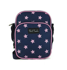 Paul Frank-Mini Star Pattern-Messenger/X Body Bag-Blu Scuro