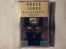 GRACE JONES Bulletproof heart mc cassette k7 ITALY SIGILLATA SEALED!!!