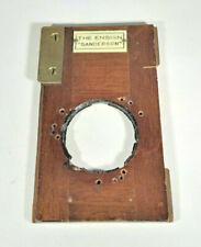"Antique Ensign ""Sanderson"" 34mm Mounting Board for Brass Lenses"