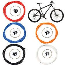 Câbles et gaines de vélo blanc
