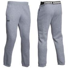 Pantalons de fitness gris coton pour homme
