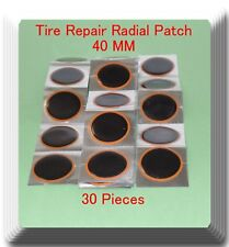30 Pieces TP-040  Round Radial Repair Tire Patch Small Size 40MM High Quality